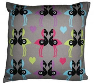 Kissing Birds Cushion